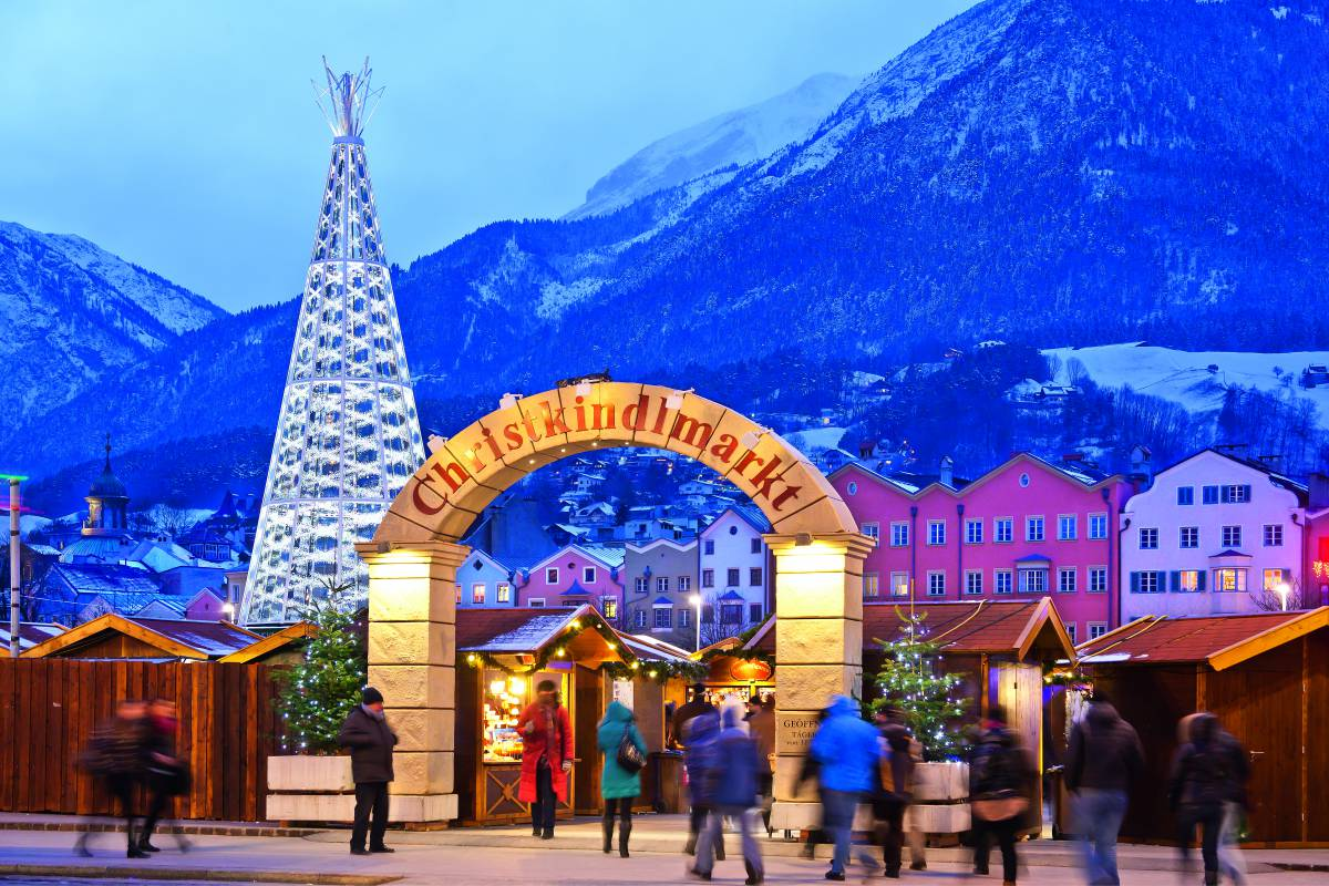 Christmas market in Innsbruck #1